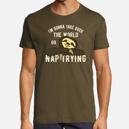 Camiseta Nap Trying