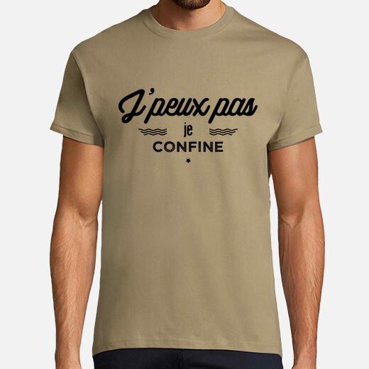 Camiseta no puedo confinar