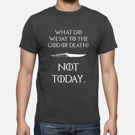 Camiseta Not today, god of death