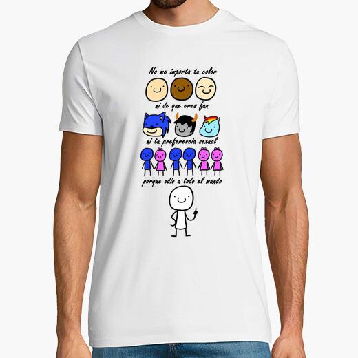Camiseta Odio a todo el mundo