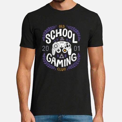 Camiseta Old School Gaming Club - GameCube