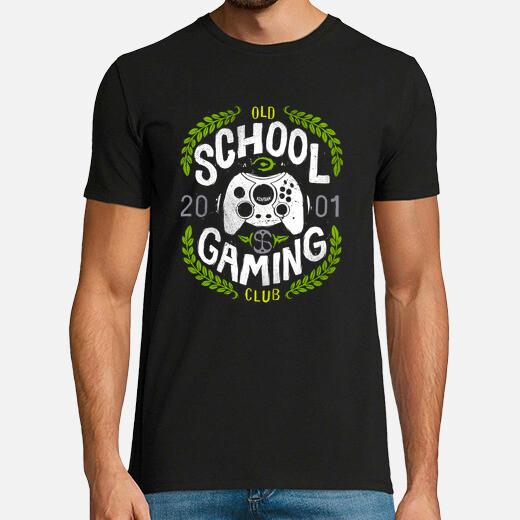 Camiseta Old School Gaming Club - Xbox
