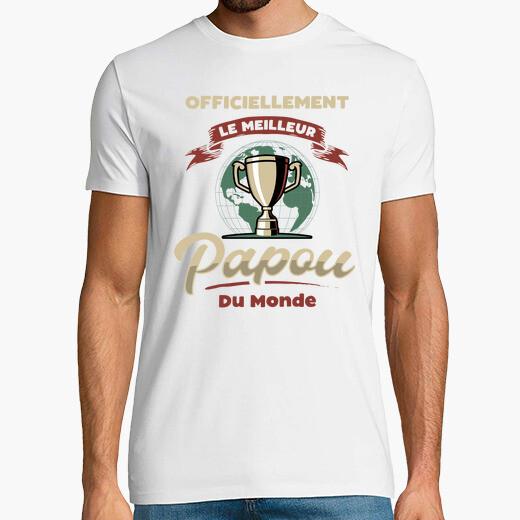 Camiseta papou cadeau fête des grands-pères