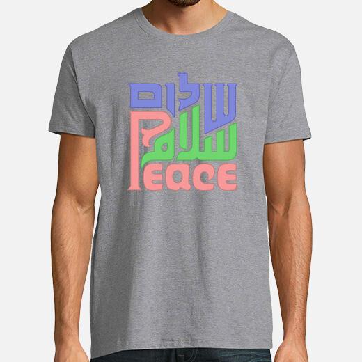 Camiseta Paz_Salaam_shalom