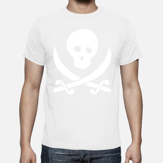 Camiseta Pirata Calavera Terror horror humor