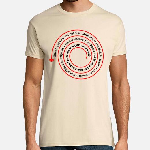 Camiseta ¿Qué han hecho los romanos por...