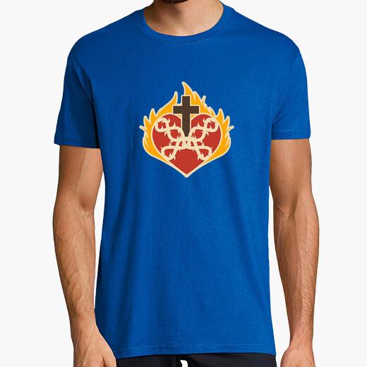 Camiseta sagrado corazon catolico