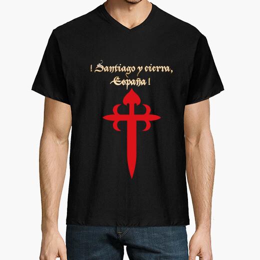 Camiseta Santiago y cierra