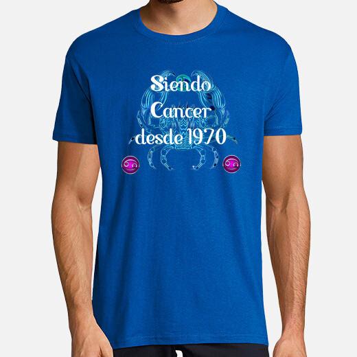 Camiseta Siendo Cancer desde 1970