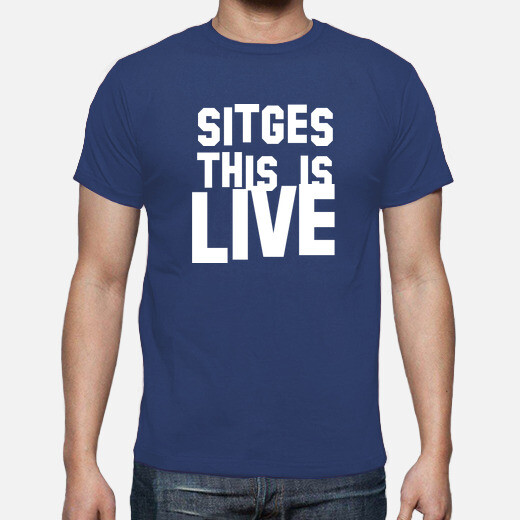 Camiseta Sitges this is live