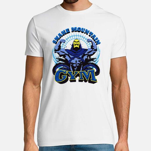 Camiseta Snake Mountain GYM - Skeletor