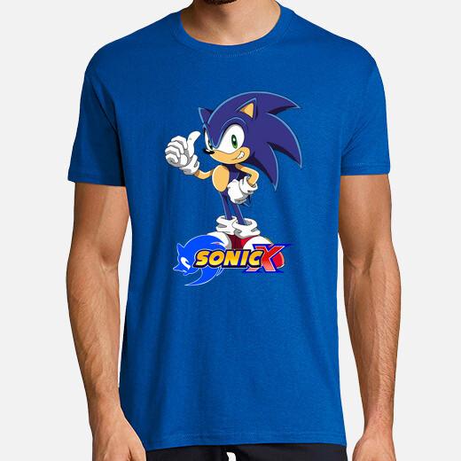 Camiseta Sonic X Chico diseño 1