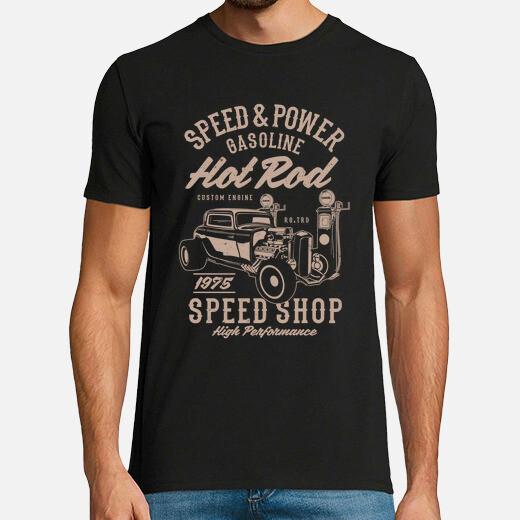 Camiseta Speed & Power Hotrod