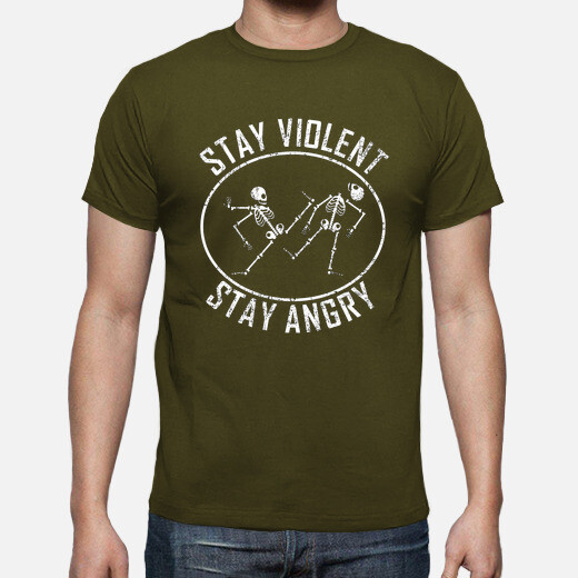 Camiseta stay angry