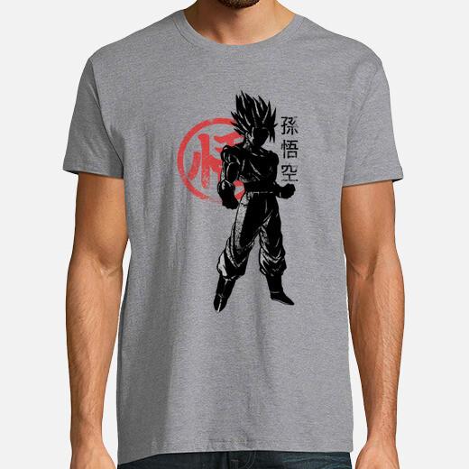 Camiseta súper goku