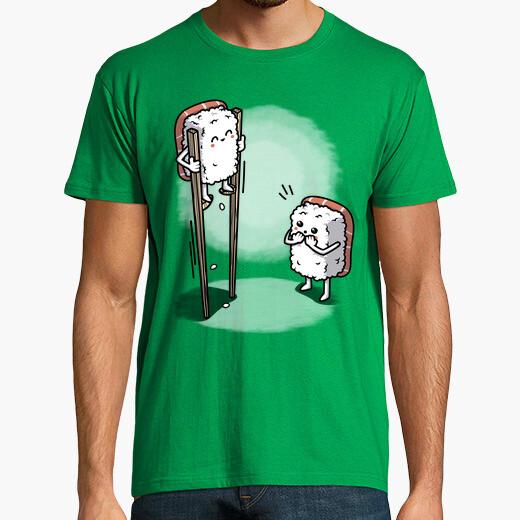 Camiseta Sushi en Palillos