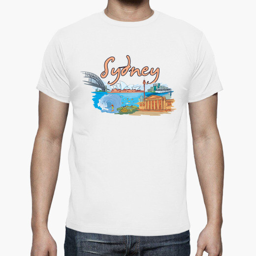 Camiseta Sydney, Australia
