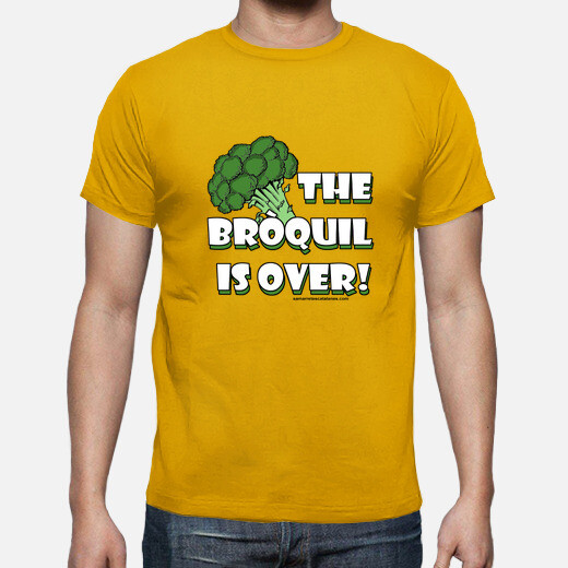 Camiseta The bròquil is over Hombre