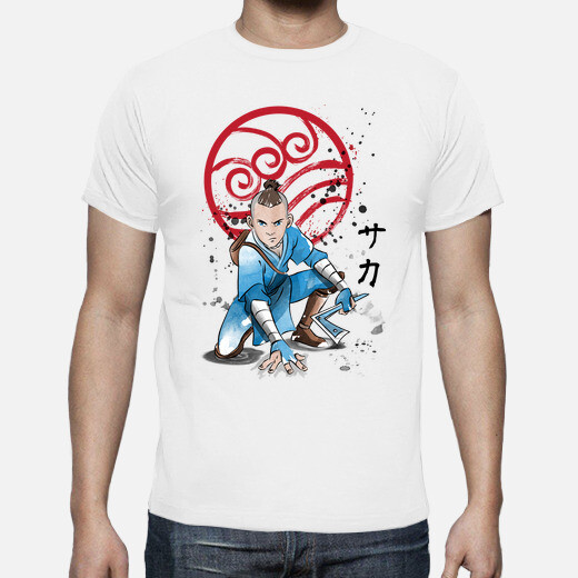 Camiseta The Power of the Water Tribe Warrior
