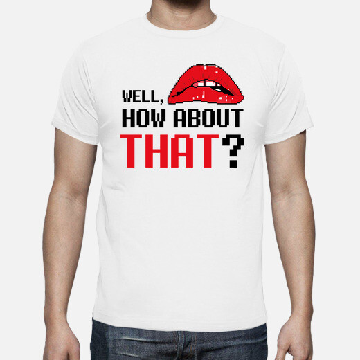 Camiseta The Rocky Horror Picture Show Frases