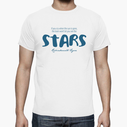 Camiseta The tears wont let you see the Stars