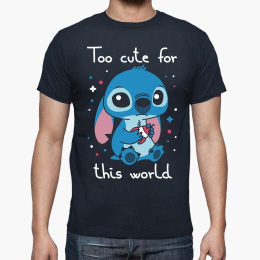 Camiseta Too cute for this world