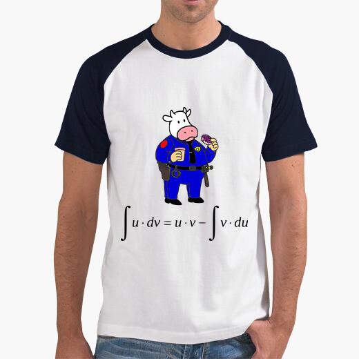 Camiseta Un día vi una vaca vestida de...