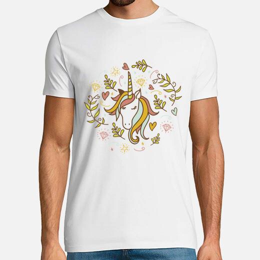 Camiseta Unicornio floral