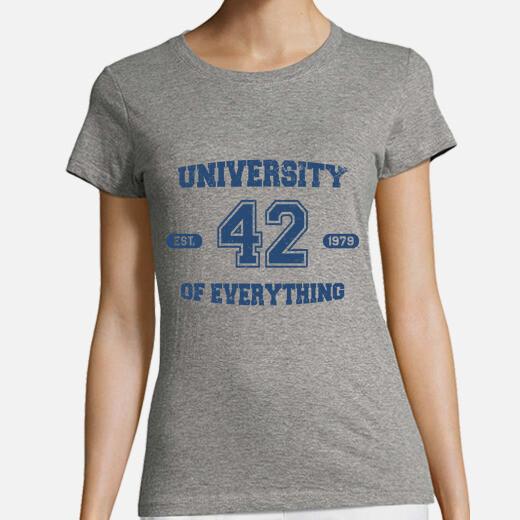 Camiseta University of everything