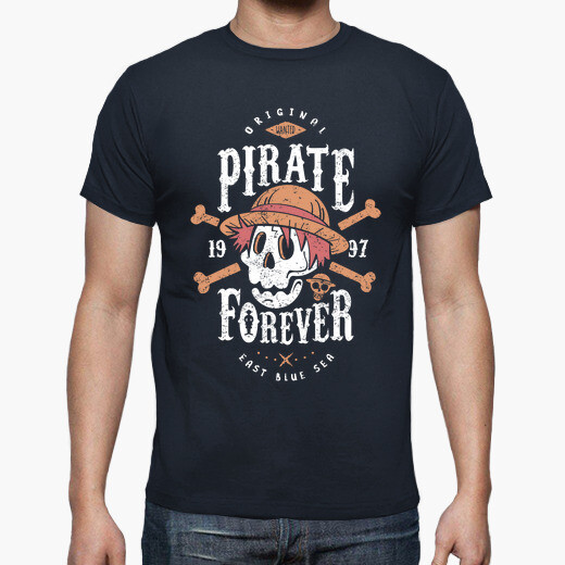 Camiseta Wanted Pirate Forever