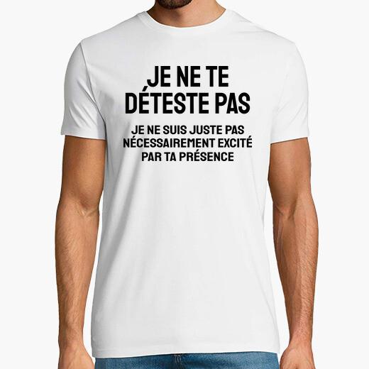 Camiseta yo no te odio
