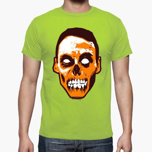 Cara de zombie Zombies camisetas friki