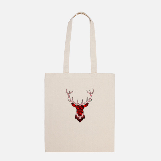 cerf hipster rouge