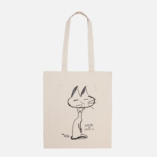 Cloth bag, natural color.