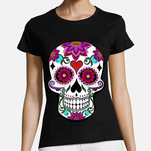 cooltee floral skull. toaster