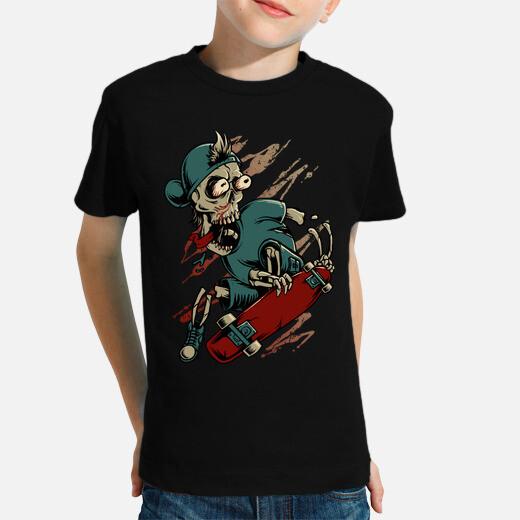 Death Skateboarder kids clothes