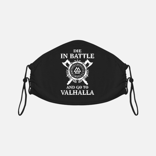die in battle and go to valhalla - vikings