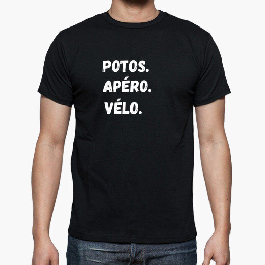 Divertida camiseta de bicicleta,...