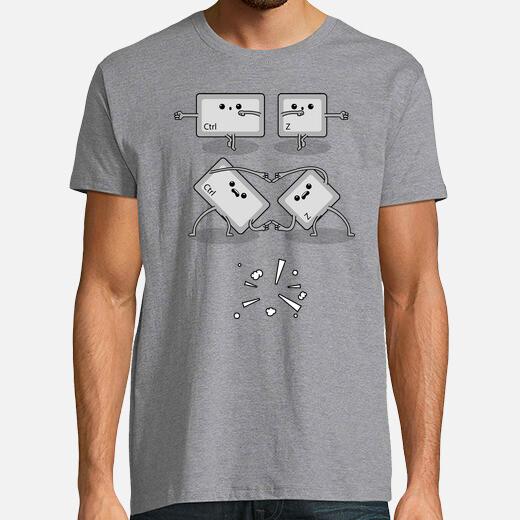Dragon ball control z fusion - undo t-shirt