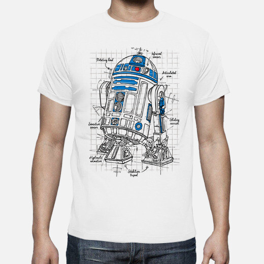 droid project : blue