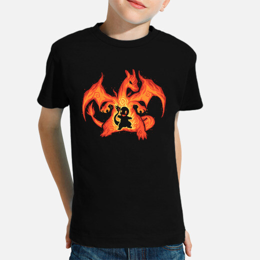 Fire Dragon Within - Kids shirt kids clothes