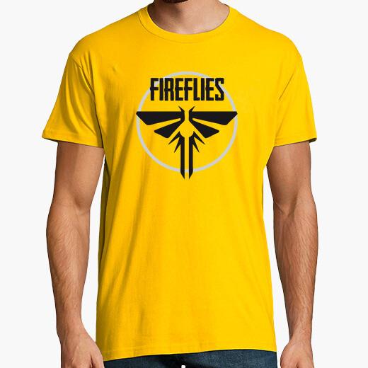 Fireflies - the last of us t-shirt