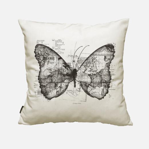 Funda cojín Butterfly Effect
