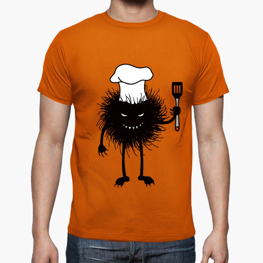 Funny Evil Bug Chef Loves To Cook t-shirt