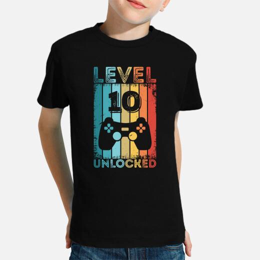Gaming Level 10 Unlocked 10th Birthday...