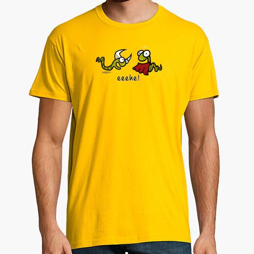 Gusanos toreando - Camisetas Fiestas humor...