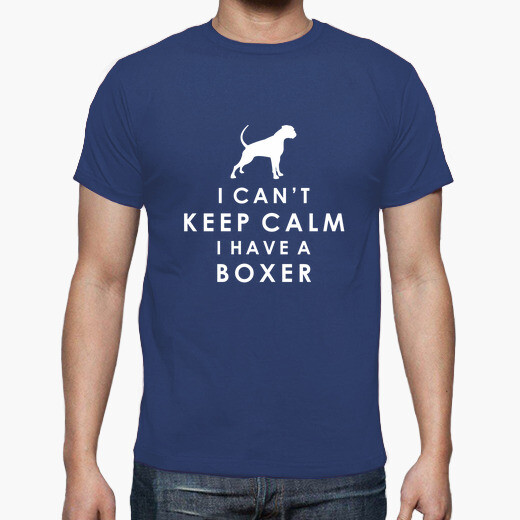 I cant keep calm i have a boxer - men t-shirt