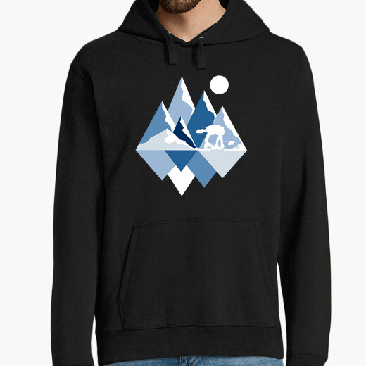 Ice planet view hoodie