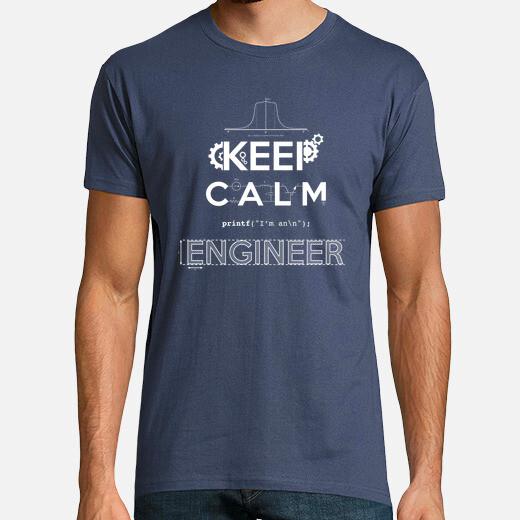 Keep calm, im an engeineer t-shirt