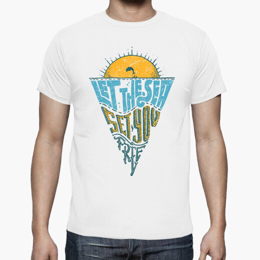 Let the sea and set you free t-shirt